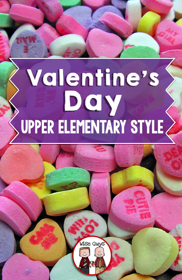 How do you get through Valentine's Day with those eight, nine, ten, and eleven year-old students? We have come up with some tips that has still made it fun for kids, but has taken the emphasis off of the romance.