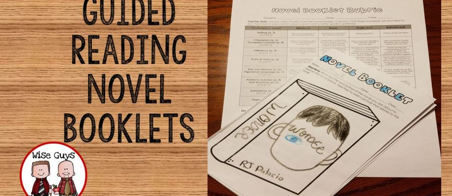 Standards Based Guided Reading Novel Booklets