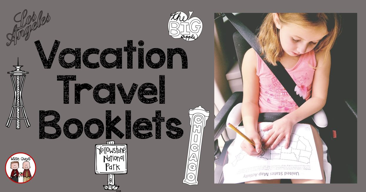 Vacation travel booklets are sure to be a hit on your next family trip. They are kid tested and parent approved for your next family vacation.