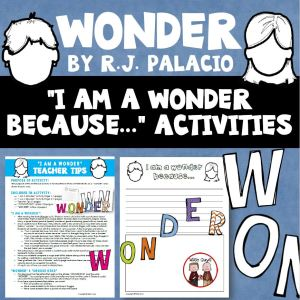Here is a free resource for the novel Wonder. It includes teacher tips and student actvities.