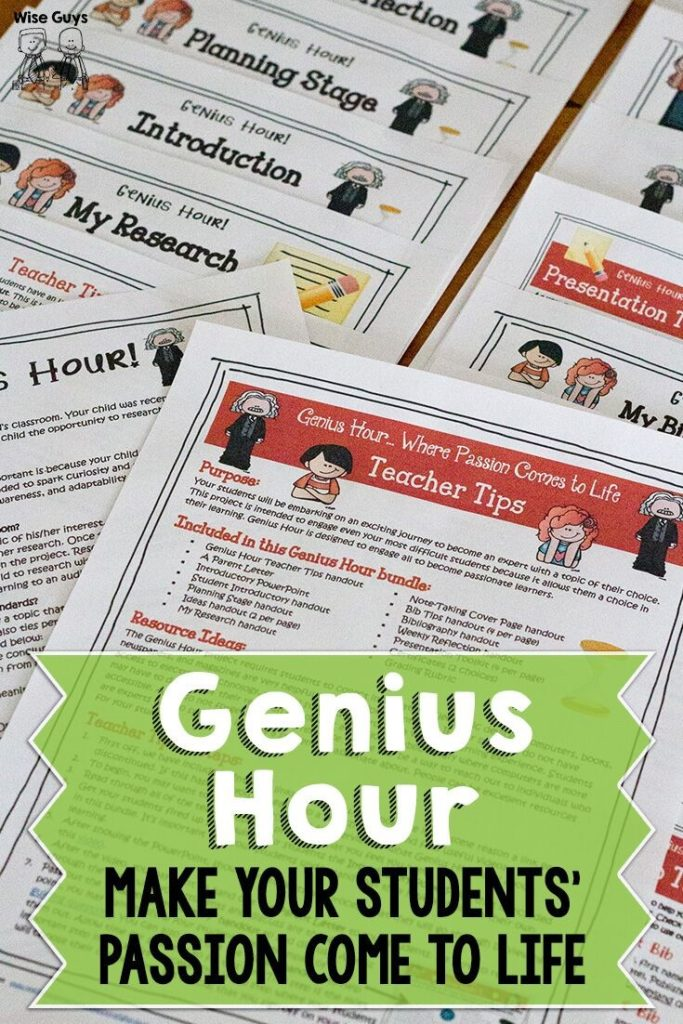 Genius Hour is a great way to help student engagement in the classroom. Back to school time is a great spot to introduce Genius Hour.