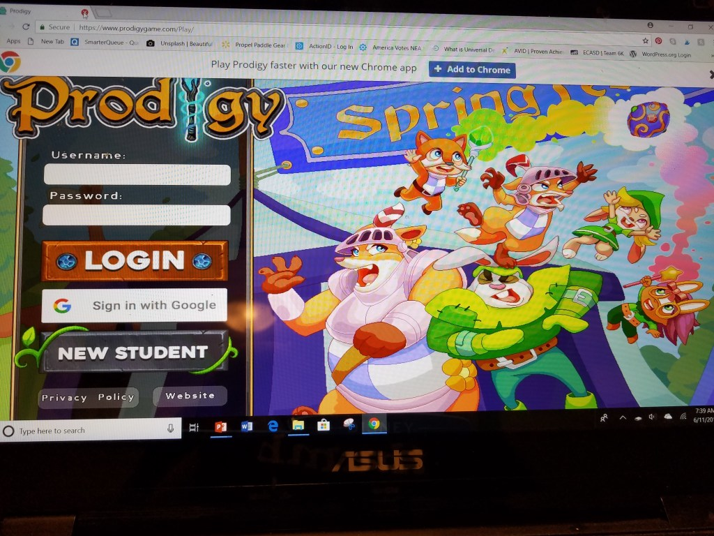 Prodigy is a great resource to help student engagement. It is a great math resource for upper elementary students.