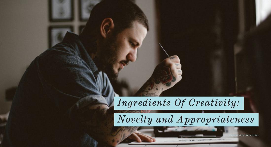 Ingredients of creativity