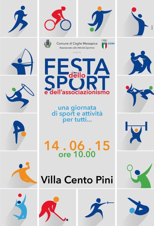 Poster - Festa dello Sport 2015