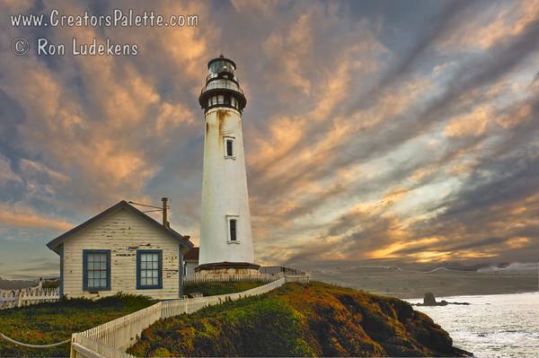 Pigeon Point Lighthouse at Sunrise
