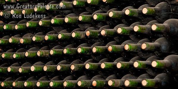 Racked Bottles