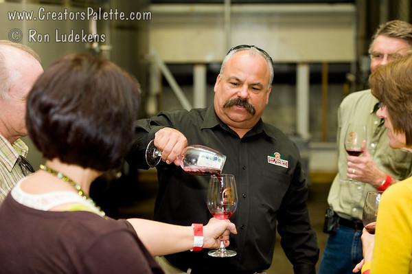 Sharing the Wine Sample