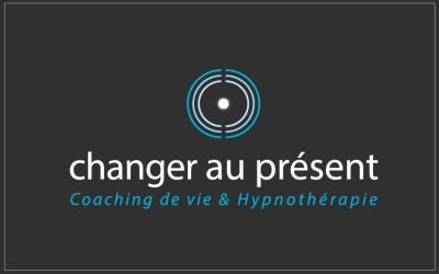 création logo sur-mesure - changer au présent- cecile spadotto creatrice graphique Graphiste Tarn - Webdesigner Tarn
