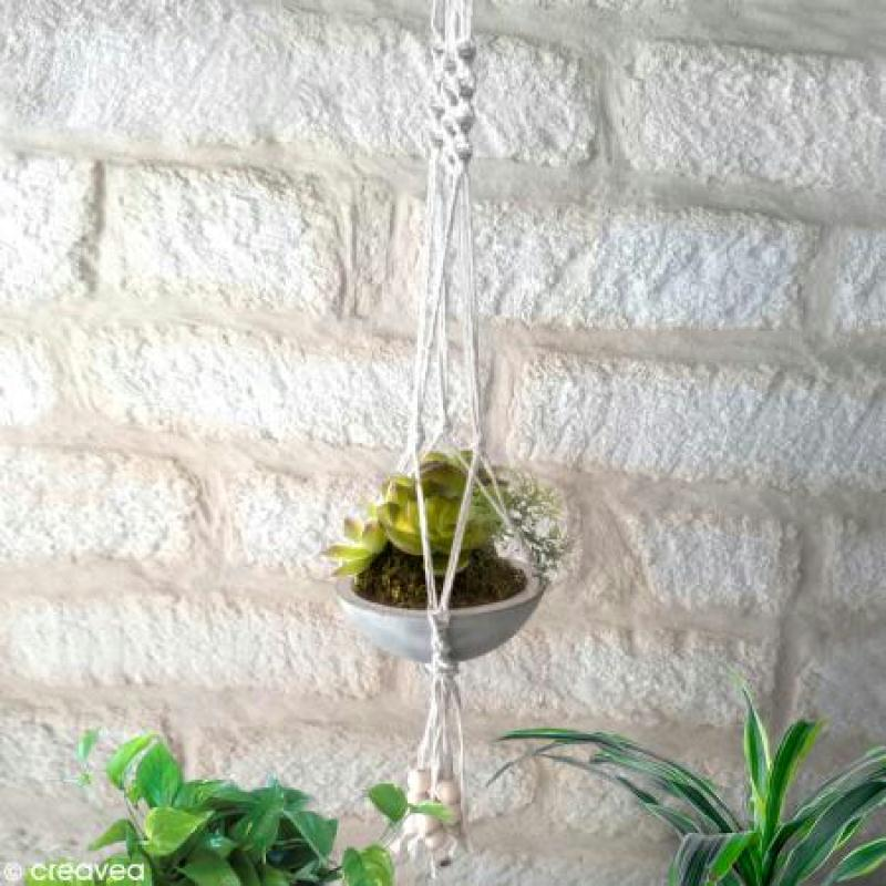 suspension macrame pour plantes idees