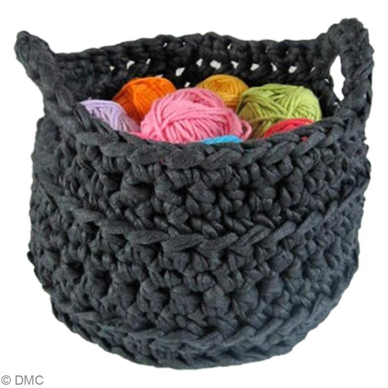 Tuto Zpagetti Hoooked Corbeille Au Crochet Ides