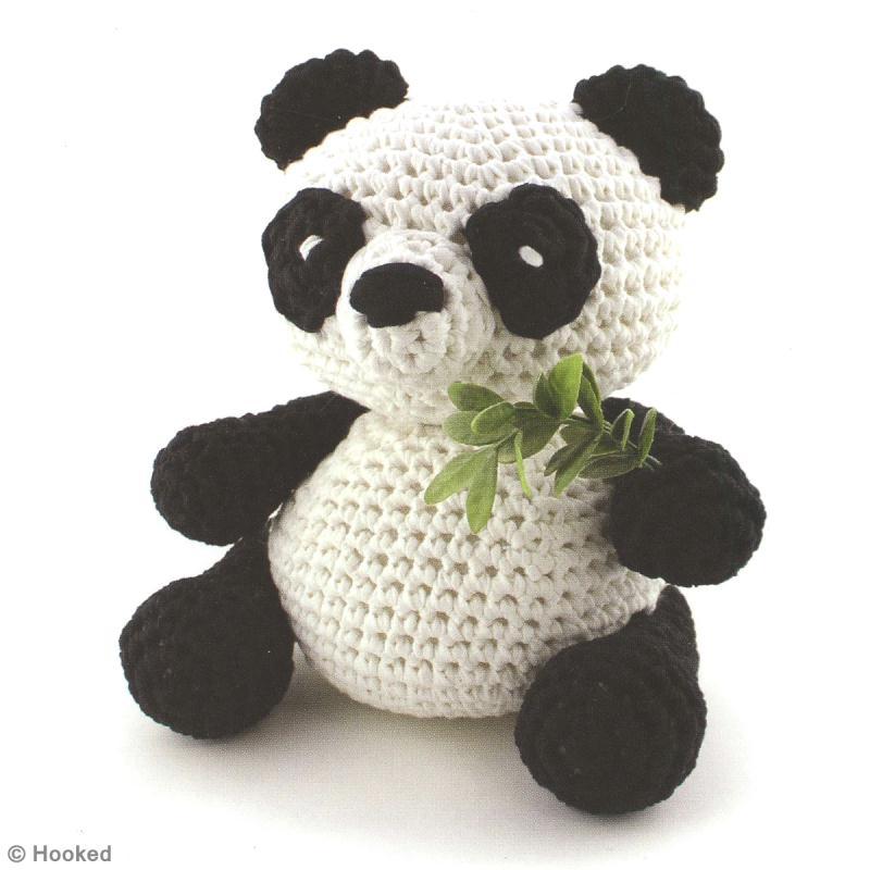 diy panda amigurumi au crochet idees