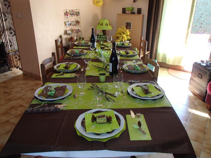 Dcoration Table Pour Mes 50 Ans Cration Art De La