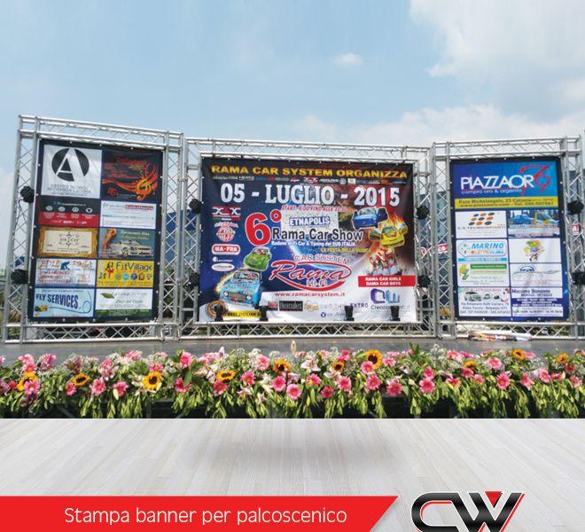 Foto per sito - Banner per palcoscenico