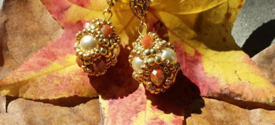 orecchini ovale 3d orecchini ovale 3d perle bianche