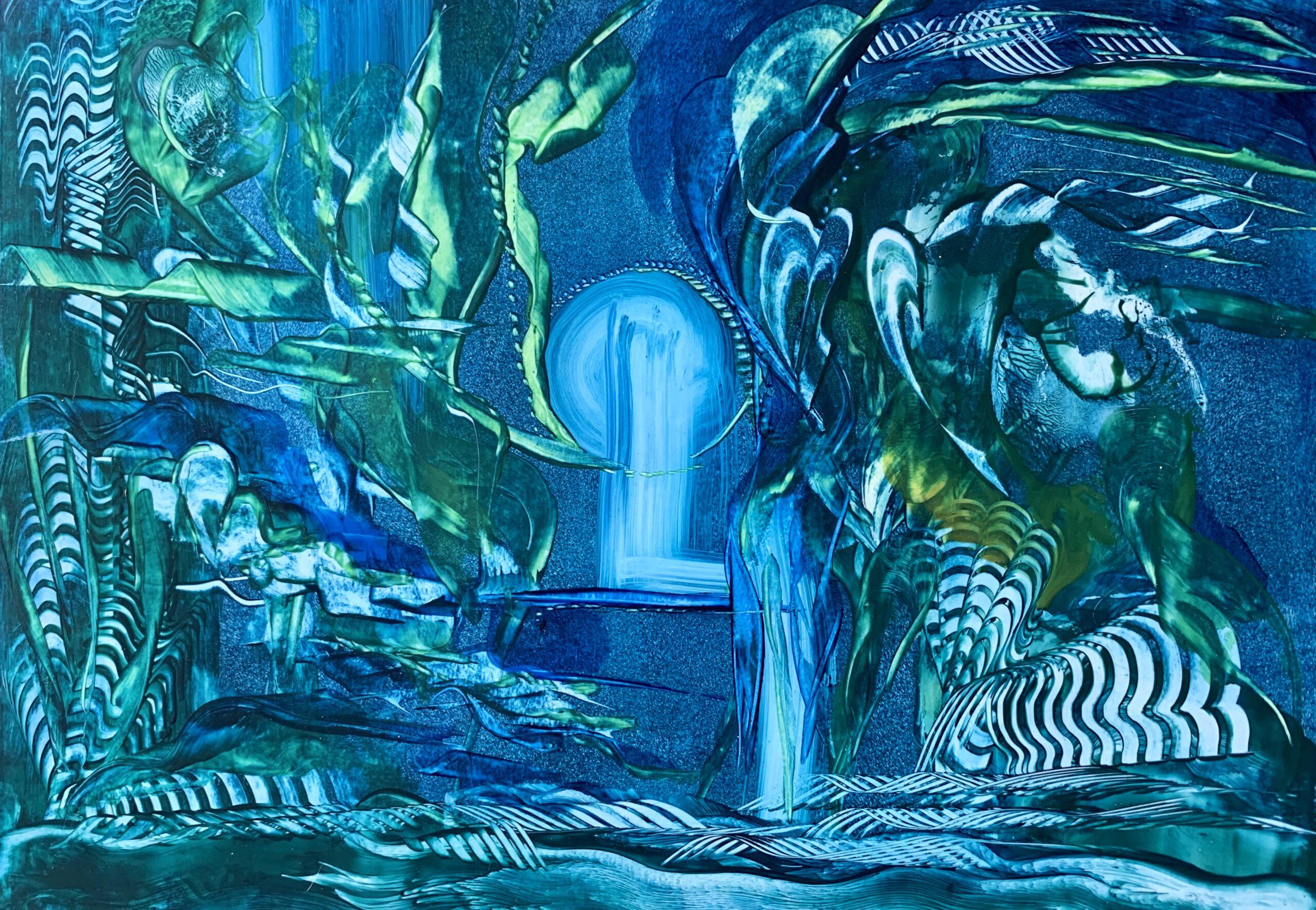 wax paintings a3 intuitief