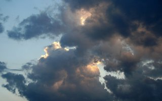 Clouds in Paynes Grey