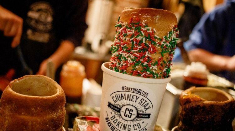 comida mercado navidad