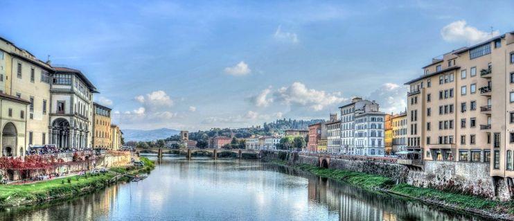 Florencia, ciudad y capital de la Toscana italiana