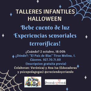 Taller infantil Halloween