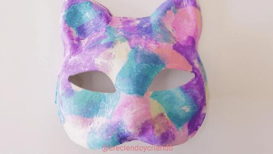 Máscara de Carnaval DIY