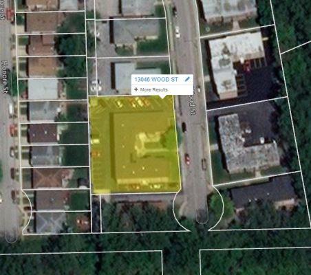 Parcel-Map 18 Unit Apartment Building For Sale 13046-13050 S Wood St Blue Island IL 60406