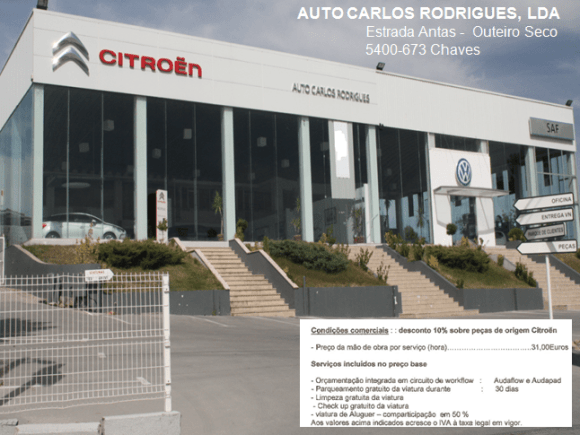 Auto Carlos Rodrigues -chaves