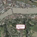 """Harta1: Biserica """"Naşterea Maicii Domnului"""" Passau"""
