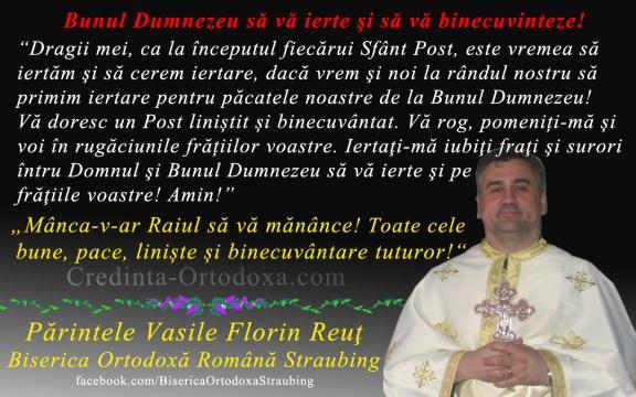 Este vremea sa iertam si sa cerem iertare * www.credinta-ortodoxa.com