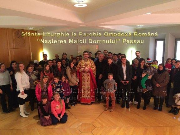 """Sfanta Liturghie la Parohia """"Nasterea Maicii Domnului"""" Passau"""