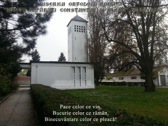"""Biserica Ortodoxă Română  """"Sfinţii Împăraţi Constantin şi Elena"""" Straubing"""