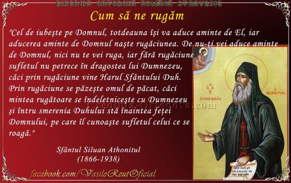 Cum să ne rugăm - din sfaturile Sfântului Siluan Athonitul