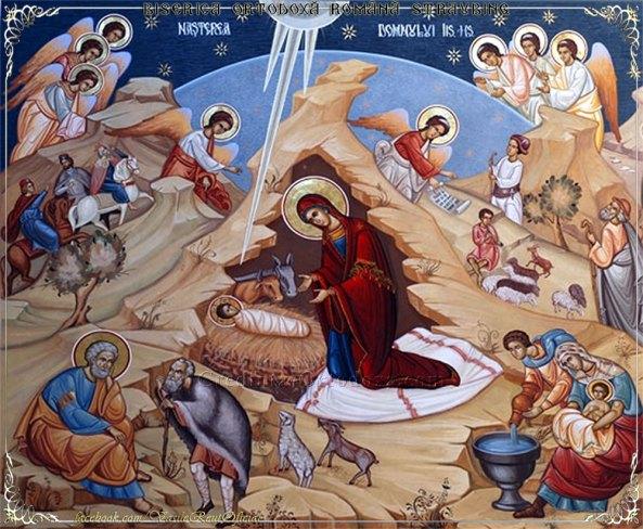 Naşterea Domnului - Urări de Sfintele Sărbători de iarnă 2015 - 2016