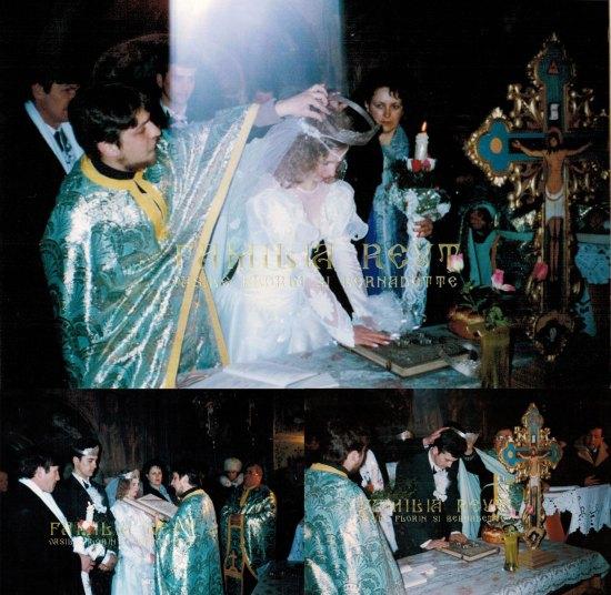 Mireasa a devenit ortodoxă prin căsătorie: Priviţi lumina care s-a pogorât peste mireasă în timpul Sfintei Cununii - O minune de la nunta noastră ?!