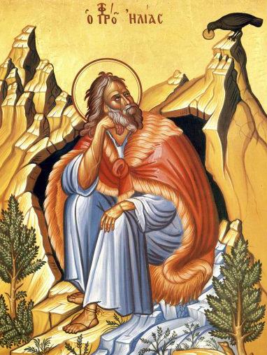Sfântul Slăvitul Proroc Ilie Tesviteanul