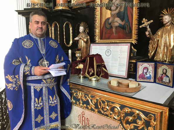 Slujirea celor 40 de Sfinte Liturghii la Parohia Ortodoxă Română din Straubing