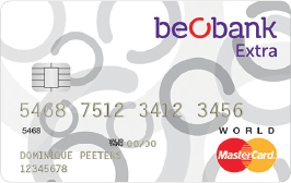 Beobank Extra Word Mastercard