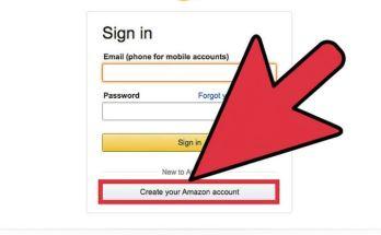 Amazon Account Sign Up
