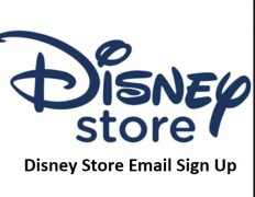Disney Store Email Sign Up Steps