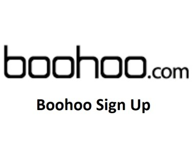 Boohoo Sign Up