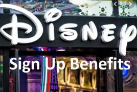 Disney Store Sign Up Steps