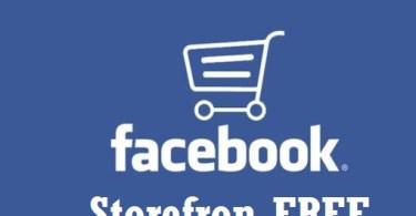 Facebook Storefront Free Setup
