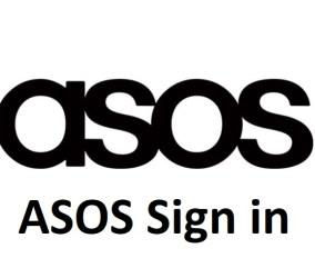 ASOS Sign in Via Facebook