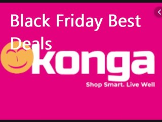 Konga Black Friday Best Deals, Sales & Ads