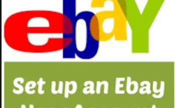 How To Set Up An eBay Account - eBay Login New Account