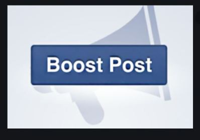 Facebook Boost Post Button   Boost Post On Facebook - Cost