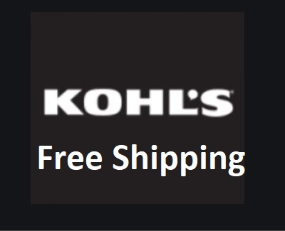 Free Shipping Kohls - How to Get Kohl's Free Shipping
