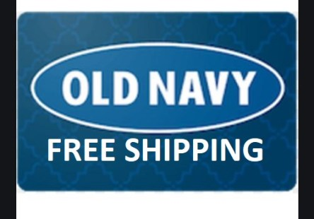 Free Shipping Old Navy