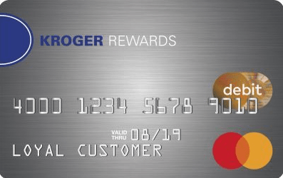 Kroger rewards debit card