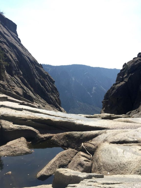 Dry Yosemite Falls in September