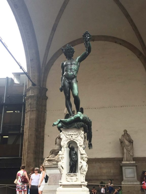 Perseus with Head of Medusa